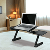 Atas Lifestyle Laptop Desks black Adjustable Ergonomic Laptop Desk (Mouse Pad Included)