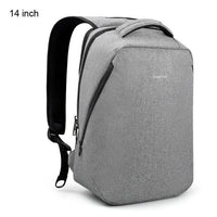 Atas Lifestyle Light Grey 14 inch Urban Anti Theft Backpack With Laptop Compartment