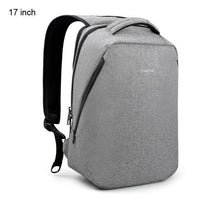 Atas Lifestyle Light Grey 17 inch Urban Anti Theft Backpack With Laptop Compartment
