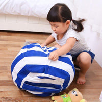 Atas Lifestyle Medium / Sky Blue Stuff-It Bean Bag