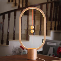Nuru Lights LED Night Lights Light Wood Equilibrium Lamp