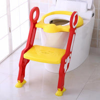 Superbaby 14 Store Горшки PJ3554A All-In-One Toddler Toilet Trainer Potty Seat With Step Ladder