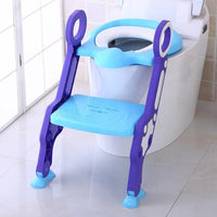 Superbaby 14 Store Горшки PJ3554B All-In-One Toddler Toilet Trainer Potty Seat With Step Ladder