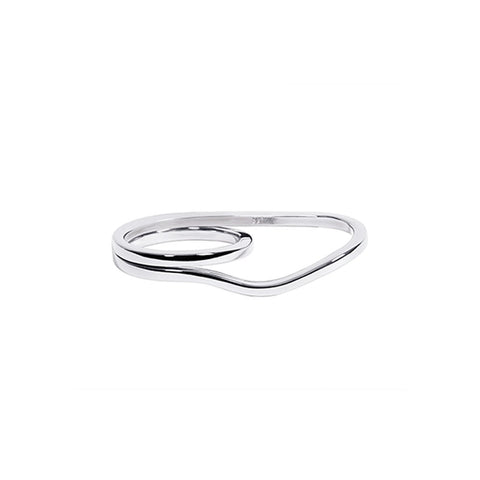 WIRE TWO FINGER RING S