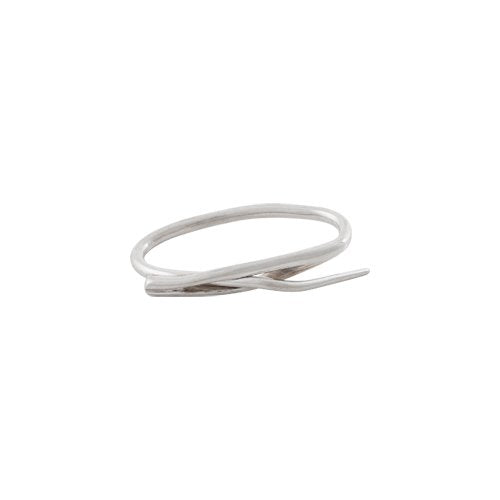 NEEDLE TWO FINGER RING - MARCEL BEDRO jewelry