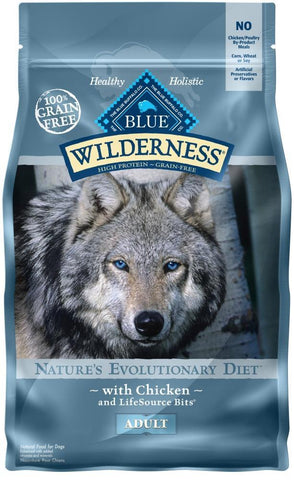 product zoomed image Blue Buffalo Wilderness Grain Free High Protein Chicken Recipe Adult Dry Dog Food