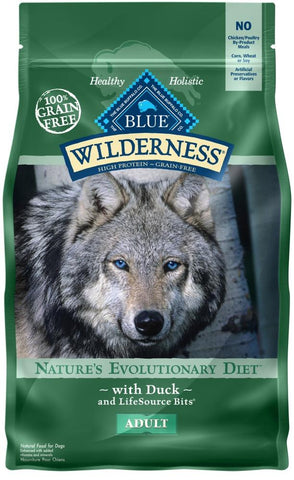 product zoomed image Blue Buffalo Wilderness Grain Free High Protein Duck Recipe Dry Dog Food