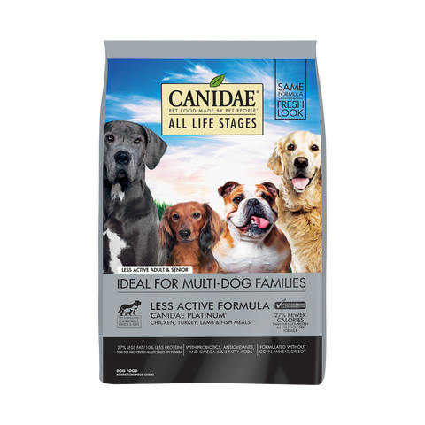 product zoomed image Canidae Platinum Formula for Less Active & Senior Dogs Dry Dog Food