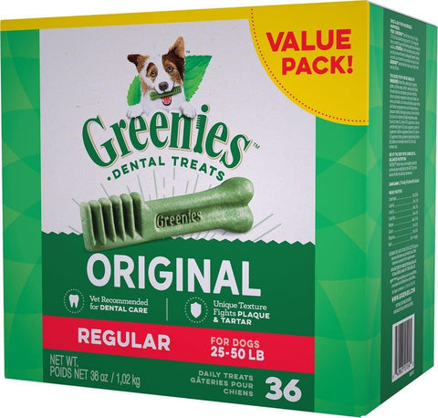 product zoomed image Greenies Regular Original Dental Dog Chews