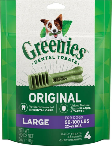 product zoomed image Greenies Large Original Dental Dog Chews