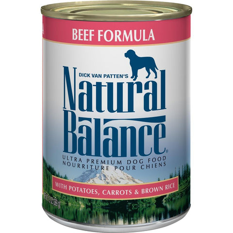 product zoomed image Natural Balance Ultra Premium Beef Formula Canned Dog Food