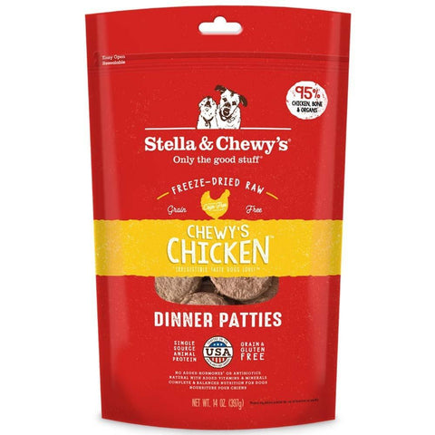 product zoomed image Stella & Chewy's Chewy's Chicken Grain Free Dinner Patties Freeze Dried Raw Dog Food