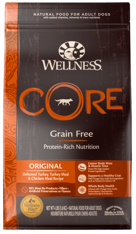product zoomed image Wellness CORE Natural Grain Free Original Turkey & Chicken Recipe Dry Dog Food