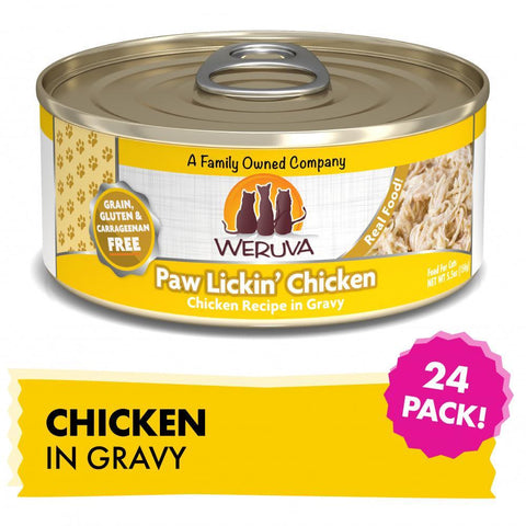 product zoomed image Weruva Grain Free Paw Lickin' Chicken Canned Cat Food