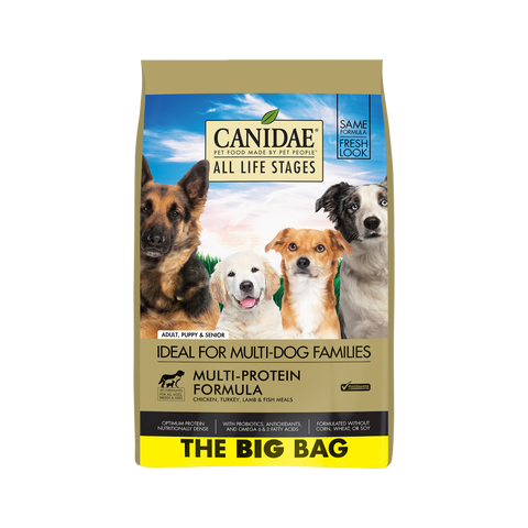 product zoomed image Canidae All Life Stages Chicken, Turkey, Lamb & Fish Meals Recipe Dry Dog Food