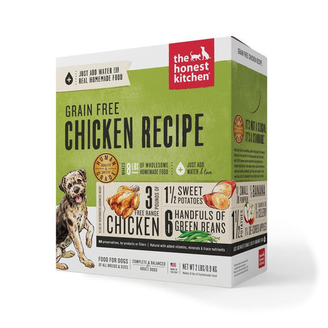 product zoomed image The Honest Kitchen Grain Free Chicken Recipe Dehydrated Dog Food