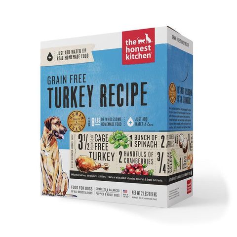 product zoomed image The Honest Kitchen Grain Free Turkey Recipe Dehydrated Dog Food