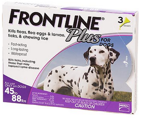 product zoomed image Frontline Plus for Large Dogs