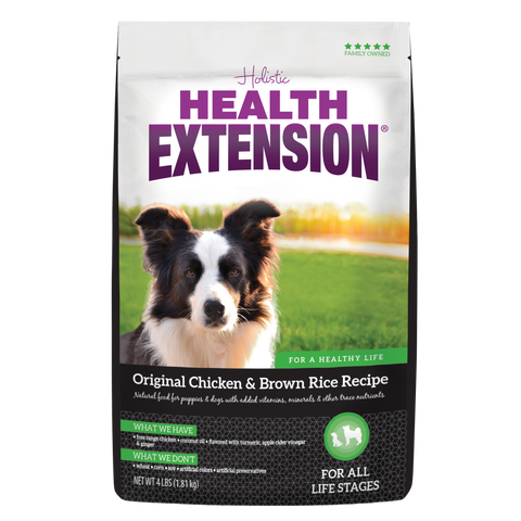 product zoomed image Health Extension Original Chicken and Brown Rice Dry Dog Food