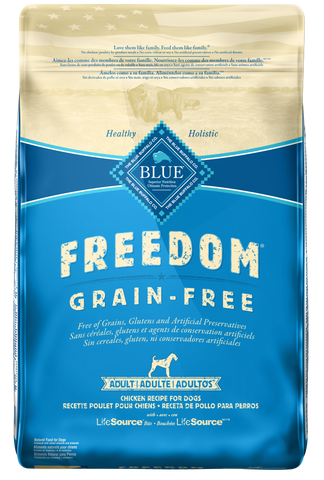 product zoomed image Blue Buffalo Freedom Grain Free Chicken Recipe Adult Dry Dog Food