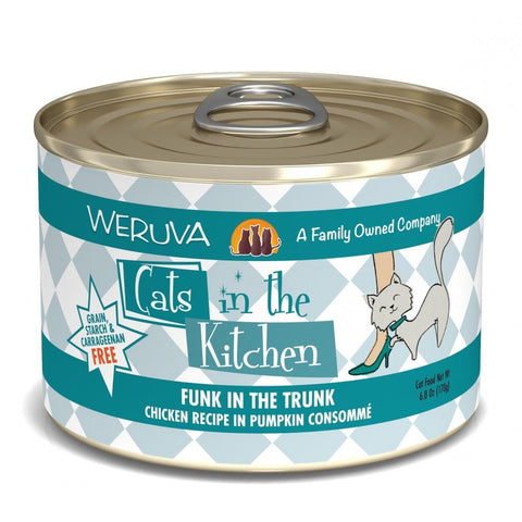 product zoomed image Weruva Cats in the Kitchen Funk in the Trunk Canned Cat Food