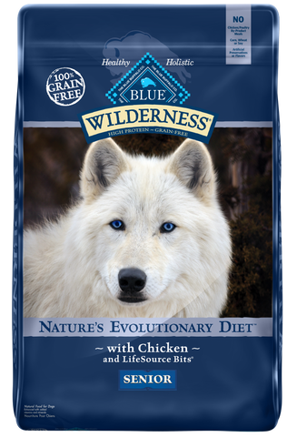 product zoomed image Blue Buffalo Wilderness Grain Free Senior Chicken Dry Dog Food