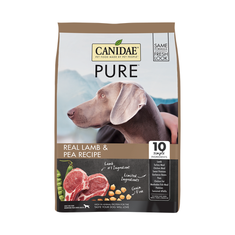 product zoomed image Canidae Grain Free PURE Lamb & Pea Recipe Dry Dog Food