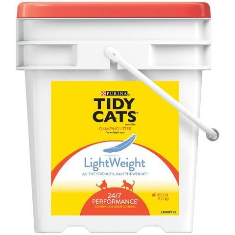 product zoomed image Tidy Cats LightWeight Clumping Cat Litter