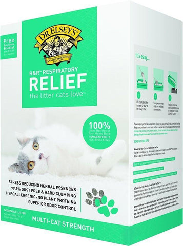 product zoomed image Dr. Elsey's Respiratory Relief Clumping Cat Litter