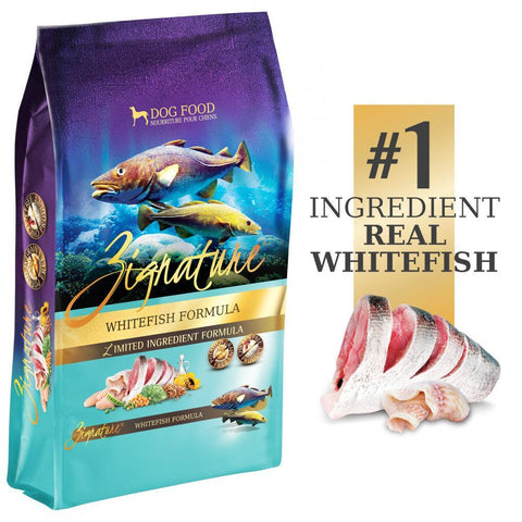 product zoomed image Zignature Limited Ingredient Diet Grain Free Whitefish Recipe Dry Dog Food