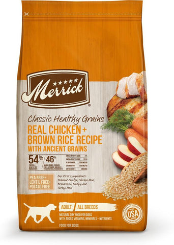product zoomed image Merrick Classic Chicken & Brown Rice Recipe with Ancient Grains Dry Dog Food