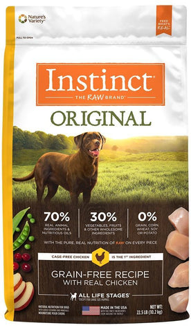 product zoomed image Nature's Variety Instinct Original Grain Free Recipe with Real Chicken Natural Dry Dog Food