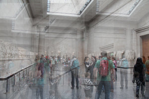 'Busy at the Museum Today' - Blurred Lines