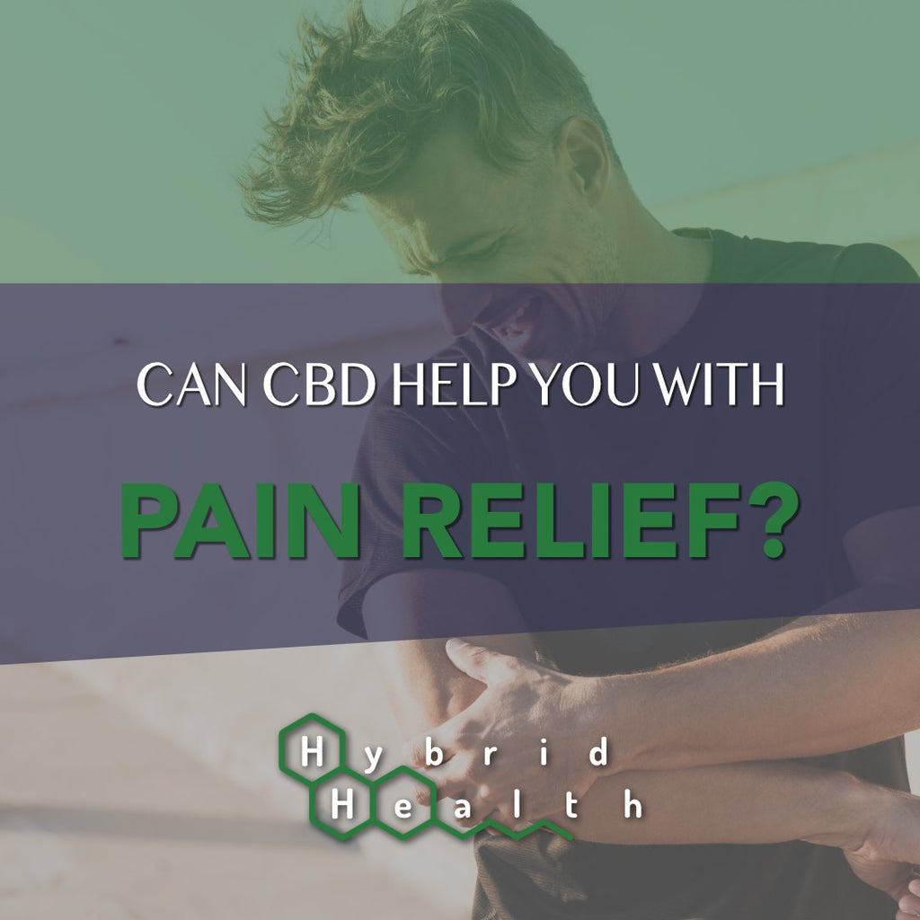 CBD for Pain Relief Injury Recovery Rehabilitation