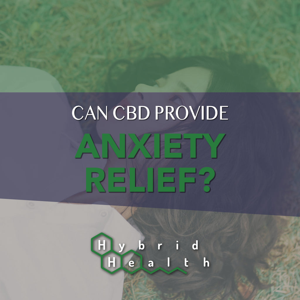 CBD For Anxiety Relief Mental Health Anxious Nervousness Depression