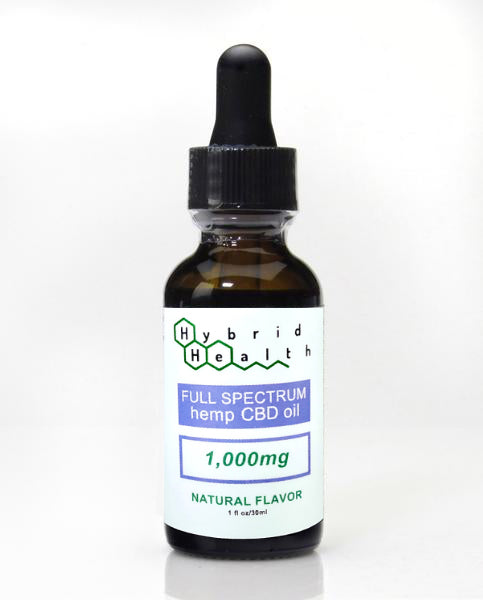 Hybrid Health Hemp Oil Extract (CBD) 1,000 MG
