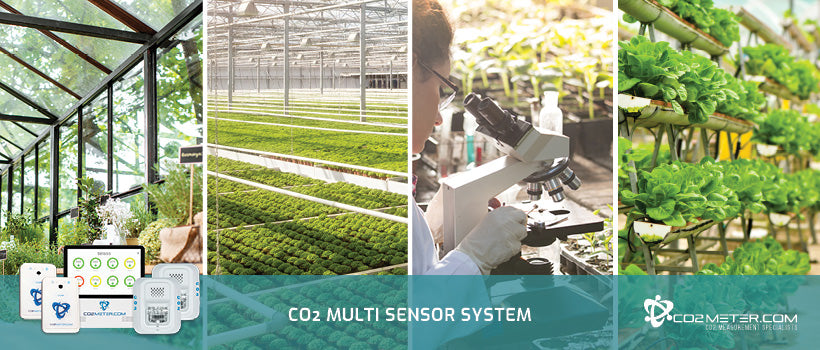 CO2 Monitors for Agriculture Industries