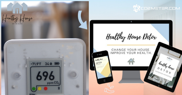 Healthy House on the Block CO2Meter Air Quality Interview