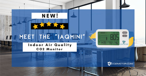 CO2 Monitor IAQMini for Indoor Air Quality