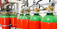 Fire Suppression Testing Gas Sensor Applications
