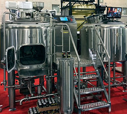 brewing tanks create co2