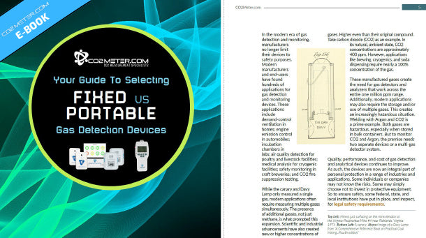 CO2Meter How to Choose a Fixed vs Portable Gas Detection Solution eBook