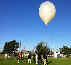 co2 sensor in atmospheric launch balloon
