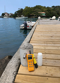 pSense CO2 meter used to measure occean acidification