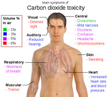 Carbon dioxide toxicity