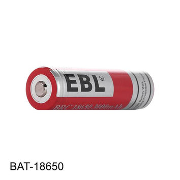 EBL 18650 3.7V Li-ion Rechargeable Battery