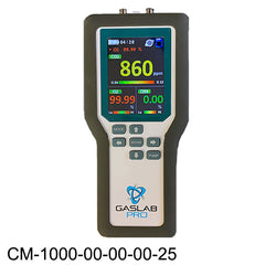 10% Carbon Dioxide Sampling Data Logger