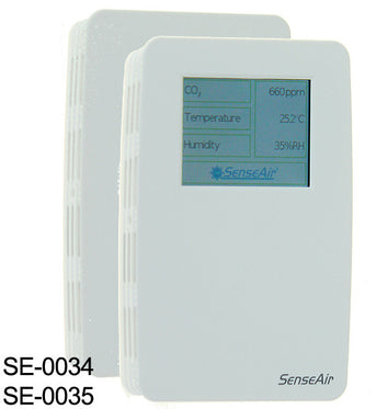 tSense Touch Screen CO2 + RH/T Transmitter