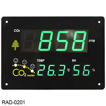 cSense Large Character Wall CO2 Monitor