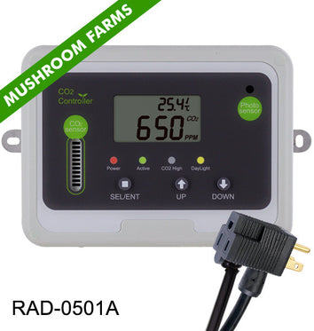 CO2 Controller for Mushroom Farms & Growers